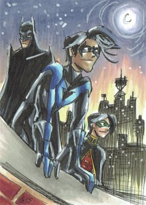 Nightwing, Robin & Batman