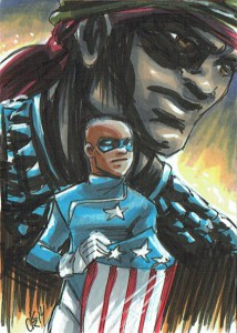 Patriot & Captain America