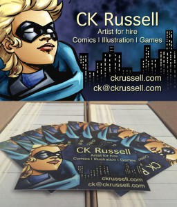 Business card - ckrussell.com