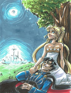 Princess Serenity & Prince Endymiion (Sailor Mon)