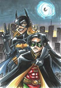 Batgirl & Robin