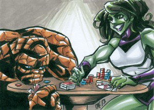 She Hulk & The Thing